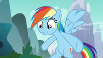 "Rainbow Dash ""because of your outfit"" S6E6"