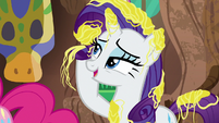 """Rarity """"my mane wouldn't be ready"""" S7E19"""