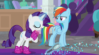 """Rarity """"those aren't from my boots"""" S8E17"""
