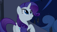 Rarity gives Fluttershy direction S4E03
