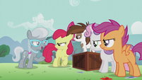 "Silver ""when Diamond Tiara is voted student pony president"" S5E18"