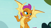 Smolder -hanging out with other creatures- S8E2