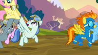 Spitfire and the cheering mob S2E22
