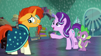 """Starlight """"You're an important wizard in the Crystal Empire!"""" S6E2"""