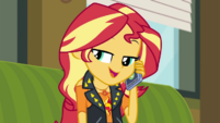 Sunset Shimmer -that text you sent Twilight- CYOE3c