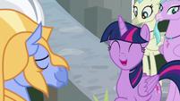"Twilight Sparkle ""absolutely!"" S8E6"