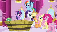 """Fluttershy """"dreamt about a blue smoke thingy too"""" S5E13"""