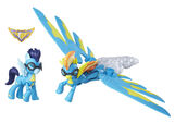 Guardians of Harmony Spitfire and Soarin figures
