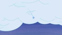 Ice arrow piercing a cloud S4E24