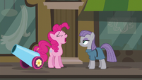 Pinkie Pie --the second gift you've gotten me today-- S6E3
