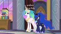 "Princess Celestia ""sorry to interrupt"" S9E17"
