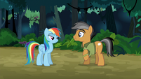 Quibble admits that Rainbow is cool S6E13