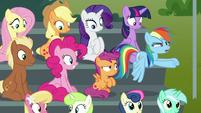 "Rainbow Dash ""total Wonderbolts ripoff!"" S8E20"