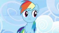 Rainbow looks at her left S3E07