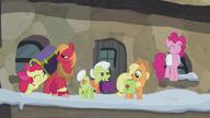 S05E20 Przyjazd rodziny Apple i Pinkie