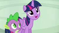 Twilight Sparkle --you're a great flyer-- S6E7
