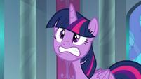 Twilight Sparkle at stress level three S9E1