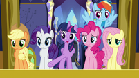 Twilight Sparkle talking about her friends S7E14