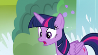 Twilight asking Derpy if she's okay S9E5