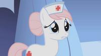 Nurse Redheart thanks Twilight for coming S1E04