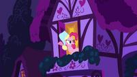 Pinkie Pie at a window 2 S2E16