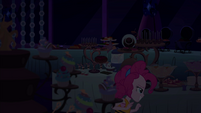 Pinkie Pie sneaking into the buffet EGSB