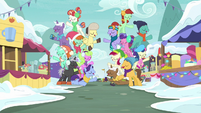 Ponies singing One More Day together MLPBGE