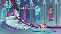 Princess Luna explains to the Mane Six S9E1