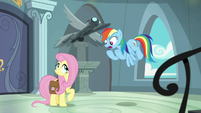 """Rainbow Dash """"A. K. Yearling in disguise"""" S9E21"""
