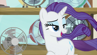 """Rarity """"before they feel it"""" S7E19"""