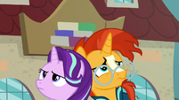Starlight and Sunburst exhausted back-to-back S8E8