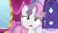 "Sweetie Belle worried ""how early?"" S6E14"