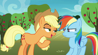 Applejack -don't get too carried away- S8E5