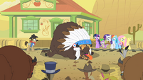 Chief Thunderhooves pie knockout S1E21