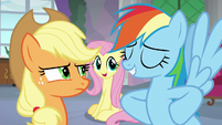 """Fluttershy """"lead the field trip together"""" S8E9"""