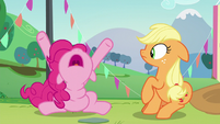 """Pinkie """"A whole lot of hoops!"""" S5E24"""
