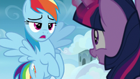 """Rainbow Dash """"maybe for you"""" S6E24"""