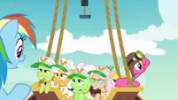 Rainbow Dash -everypony okay in there-- S8E5