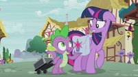 Spike --just really interested in your speech-- S5E25