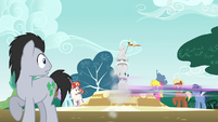 Starlight Glimmer speeds off-screen S6E6