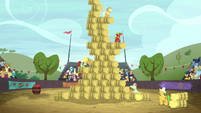 The hay bale monster stack event S5E6