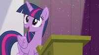 Twilight --I can tell-- S5E25