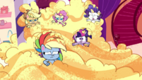 Twilight and friends in sticky cake batter PLS1E1a