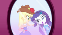 """Applejack """"you really are great at this!"""" SS1"""