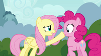 """Fluttershy and Pinkie Pie """"don't want to startle them"""" S4E16"""