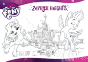 MLP G5 Hasbro website - Zephyr Heights coloring page.png