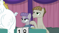 Maud and Mudbriar at their table S9E16