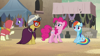"""Pinkie Pie """"don't think you're a hero"""" S7E18"""