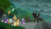 """Pony of Shadows """"when I extinguish the light"""" S7E26"""