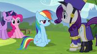 "Rainbow ""you look ridiculous"" S4E21"